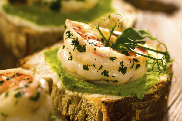 shrimp bruschetta image