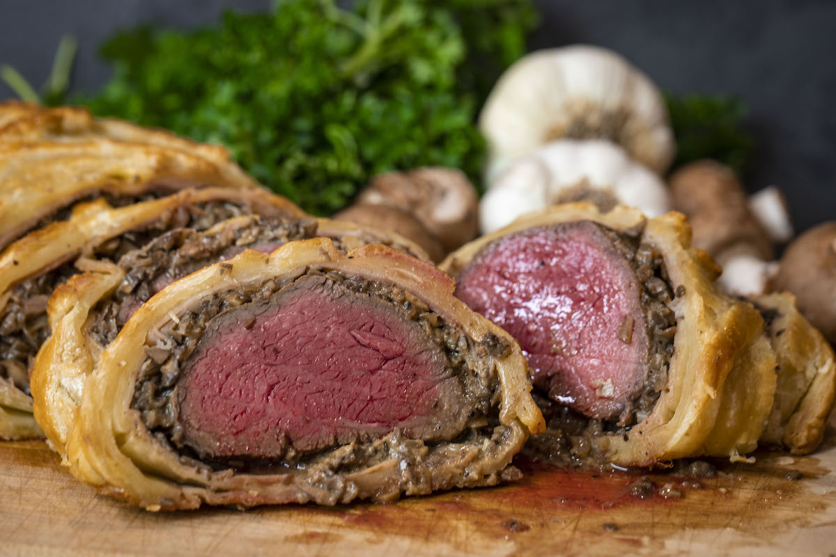 Beef Wellington on the Grill