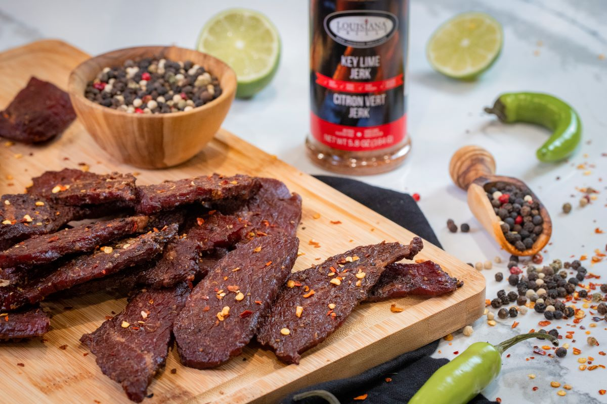 Peppered Spicy Beef Jerky