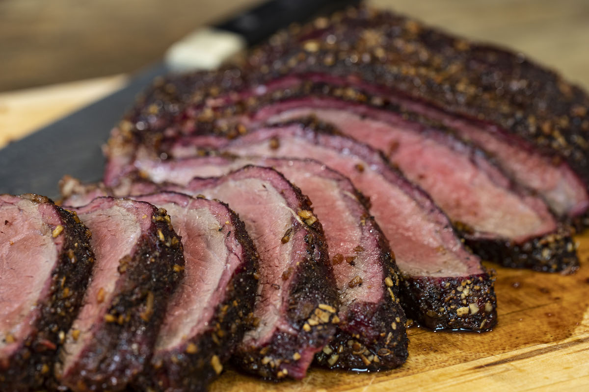 Smoked Tri Tip with Java Chophouse