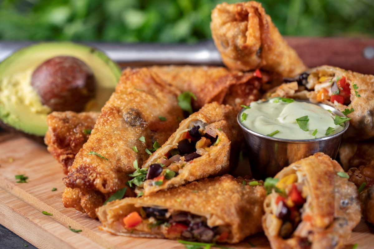 Fried Southwestern Eggrolls